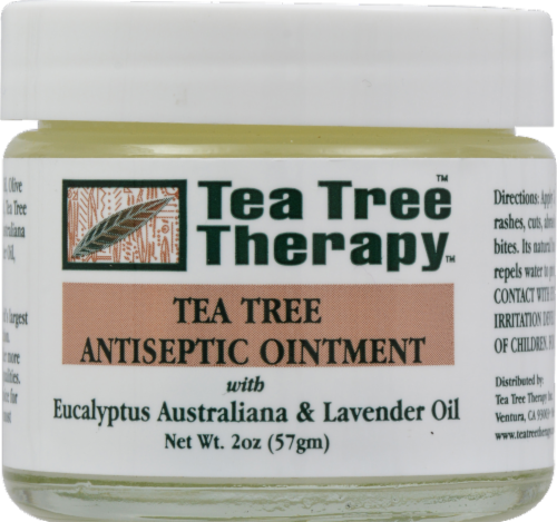 Tea Tree Therapy Tea Tree Antiseptic Ointment Perspective: front