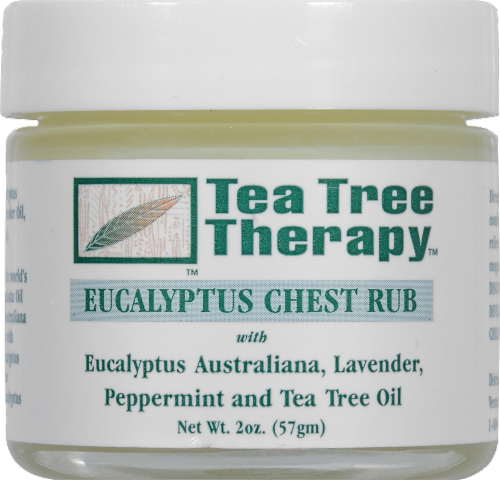 Tea Tree Therapy Eucalyptus Chest Rub Perspective: front