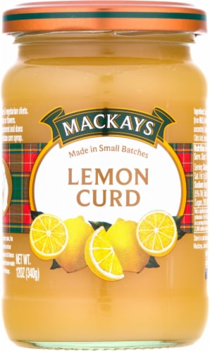 Mackays Lemon Curd Perspective: front
