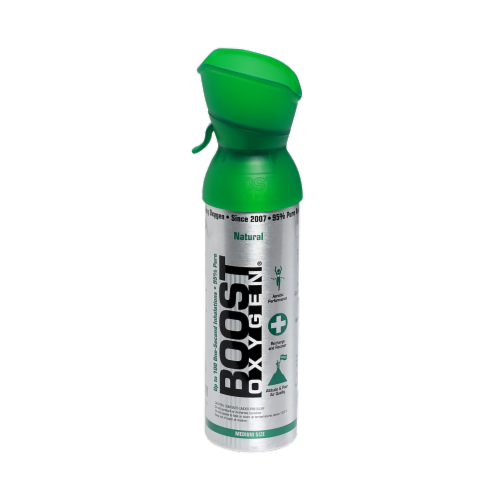 Boost Oxygen Medium Size Natural Oxygen Perspective: front