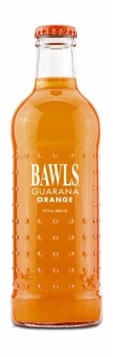 Bawls Guarana Orange Soda Perspective: front