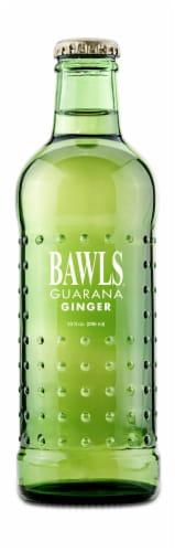 Bawls Guarana Ginger Soda Perspective: front