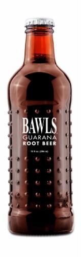 Bawls Guarana Root Beer Soda Perspective: front