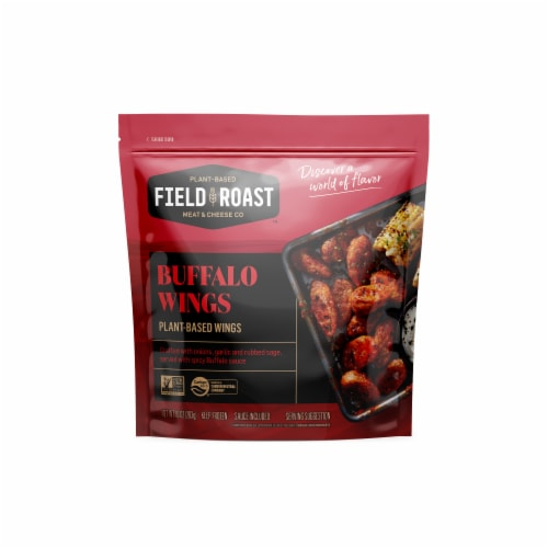 Field Roast Original FRuffalo Vegan Sausage Wings Perspective: front