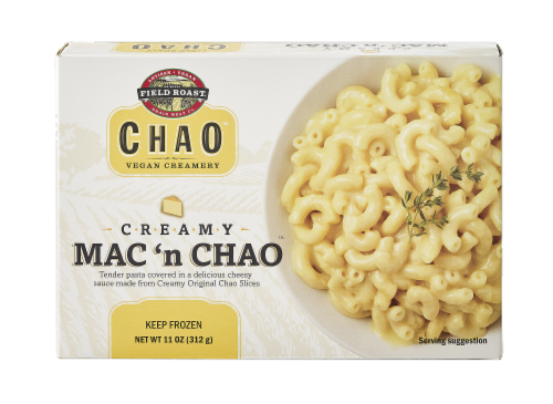 Field Roast Creamy MAC 'n Chao Frozen Pasta Dish Perspective: front