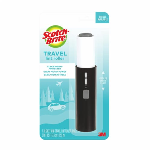 Scotch-Brite™ Mini-Travel Lint Roller Tool Perspective: front