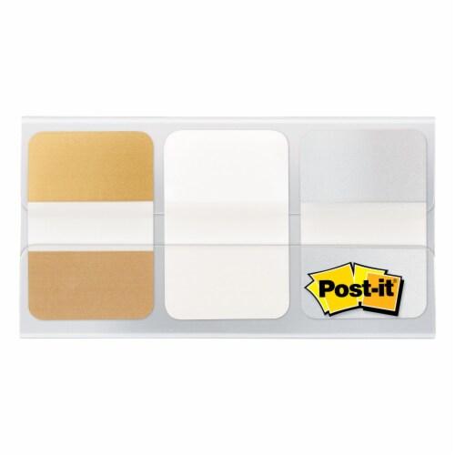 Post-it® Metallic Durable Tabs Perspective: front