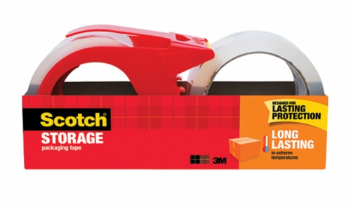 Scotch® Storage Packing Tape Perspective: front