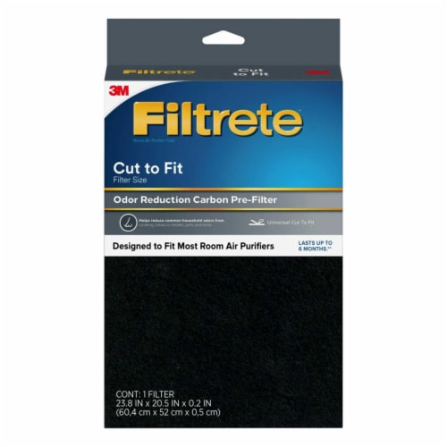 Filtrete Odor Defense Carbon Prefilter Room Air Purifier Perspective: front