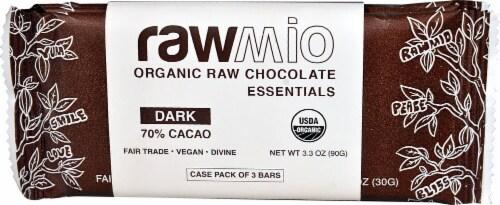 Windy City Organics Rawmio Raw Dark Chocolate Essentials Perspective: front