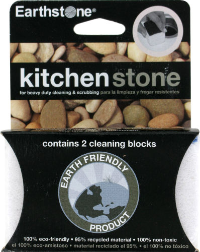 Earthstone KitchenStone® Cleaning Block Perspective: front