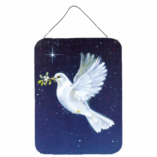 Peace Dove with the Olive Branch Wall or Door Hanging Prints Perspective: front