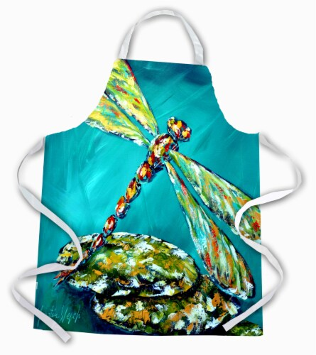 Carolines Treasures  MW1144APRON Insect - Dragonfly Matin Apron Perspective: front
