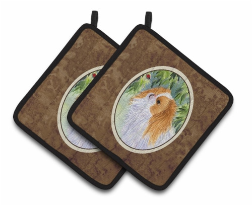 Carolines Treasures  SS8260PTHD Japanese Chin Pair of Pot Holders Perspective: front