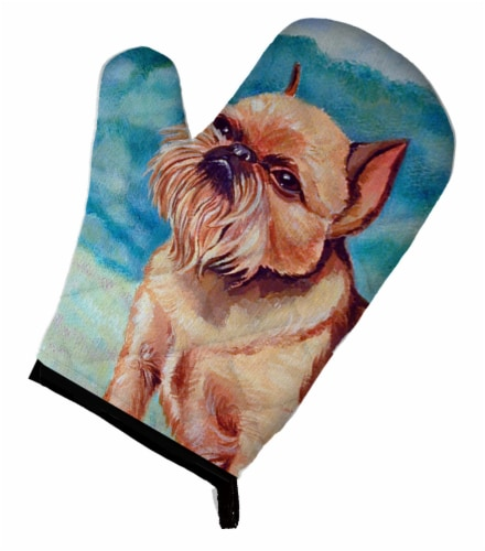 Carolines Treasures  7016OVMT Brussels Griffon Oven Mitt Perspective: front