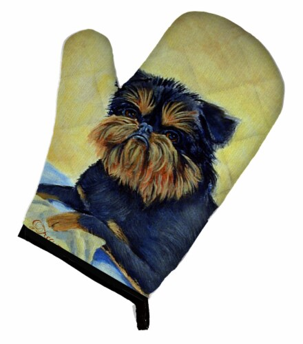 Carolines Treasures  7146OVMT Brussels Griffon Oven Mitt Perspective: front