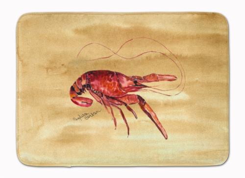 Carolines Treasures  8230-RUG Crawfish Machine Washable Memory Foam Mat Perspective: front