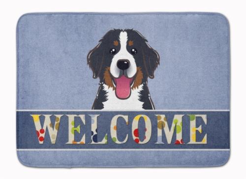 Kroger Bernese Mountain Dog Welcome Machine Washable Memory Foam Mat 19 X 27