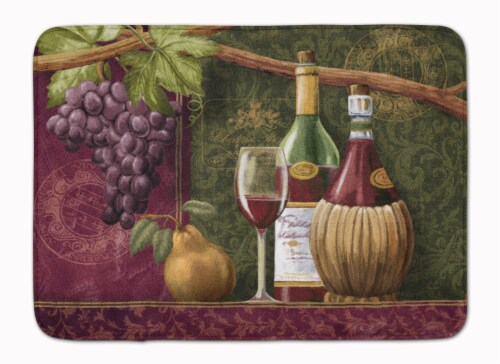 Wine Chateau Roma Machine Washable Memory Foam Mat Perspective: front