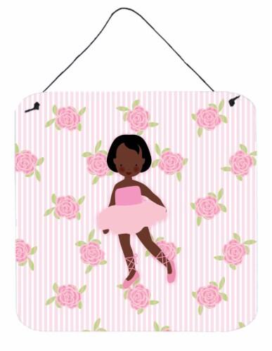 Kroger Ballerina African American Short Hair Wall Or Door Hanging Prints 6hx6w