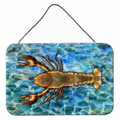 Carolines Treasures Bb5351ds812 Lobster Wall Or Door Hanging Prints 8hx12w Ralphs