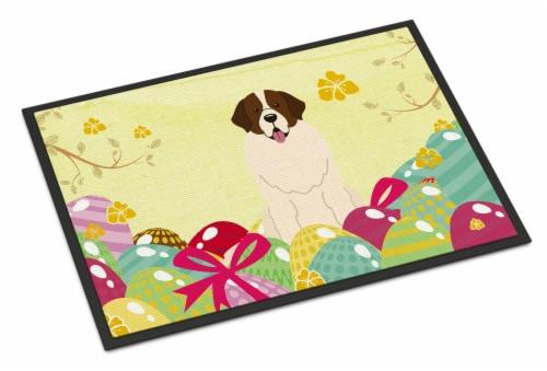 Easter Eggs Moscow Watchdog Indoor or Outdoor Mat 18x27 Perspective: front