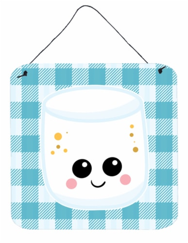 Carolines Treasures  BB7056DS66 Marshmellow Face Wall or Door Hanging Prints Perspective: front