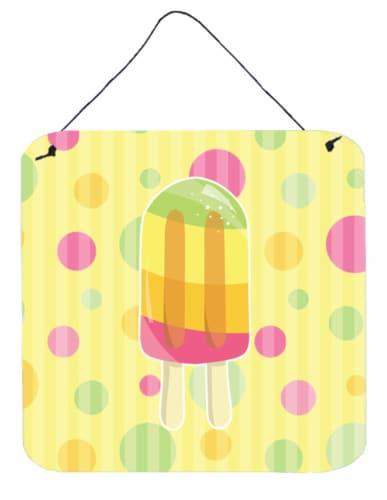 Kroger Ice Pop Popsicle Polkadots Wall Or Door Hanging Prints 6hx6w