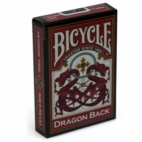 Dragon Back - Bicycle Playing Cards Perspective: front