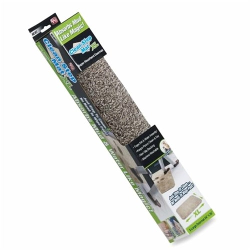 Clean Step Mat Runner (24  - 60 ) Tan 2 Pack Perspective: front