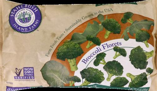 Stahlbush Island Farms Broccoli Florets Perspective: front