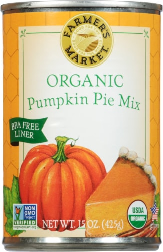 Famer's Market Pumpkin Pie Mix Perspective: front