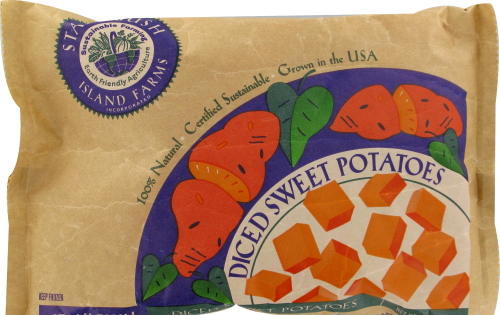 Stahlbush Island Farms Sweet Potatoes Perspective: front