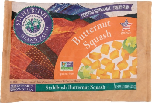 Stahlbrush Island Farms Diced Butternut Squash Perspective: front