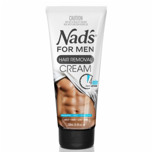 Nad's For Men Hair Removal Cream Perspective: front