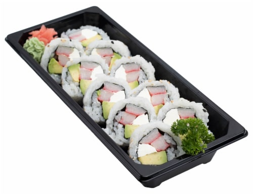 Snowfox Philly Roll (NOT AVAILABLE BEFORE 11:00 AM DAILY) Perspective: front