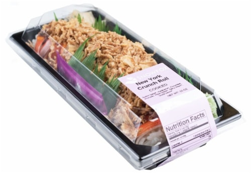 Snowfox New York Crunch Roll (NOT AVAILABLE BEFORE 11:00 AM DAILY) Perspective: front