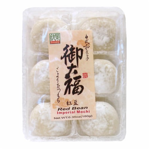 Formosa Yay Red Bean Imperial Mochi Perspective: front