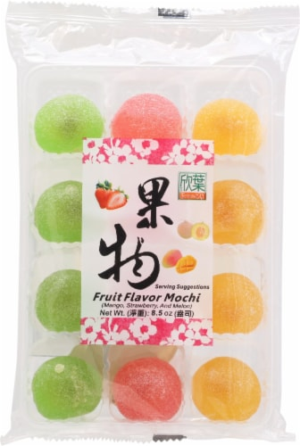 Formosa Yay Fruit Flavor Mochi Perspective: front
