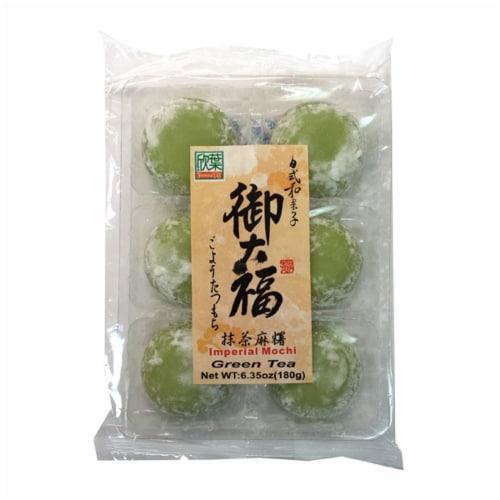 Formosa Yay Green Tea Mochi Perspective: front