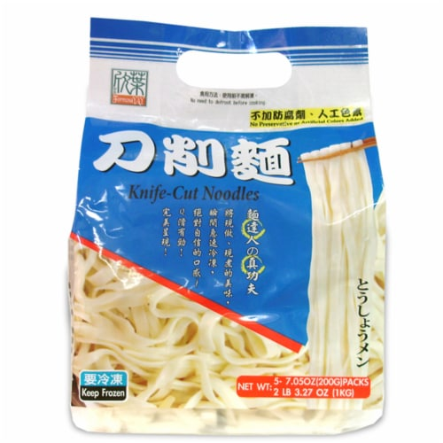 Formosa Yay Knife Cut Noodles 5 Count Perspective: front