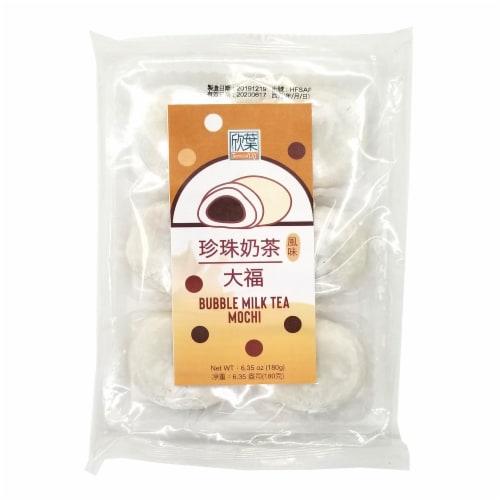 Formosa Yay Bubble Milk Tea Mochi Perspective: front