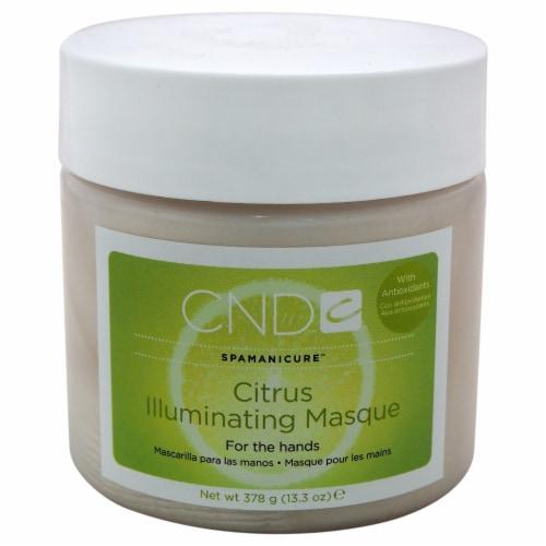 CND Spamanicure Citrus Illuminating Masque 13.3 oz Perspective: front