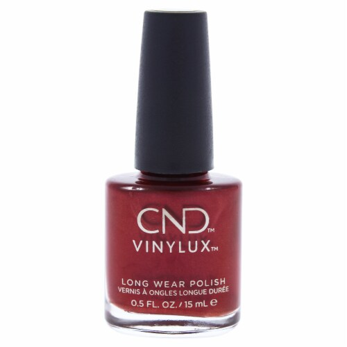 CND Vinylux Weekly Polish  139 Red Baroness Nail Polish 0.5 oz Perspective: front