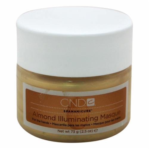 CND Spamanicure Almond Illuminating Masque 2.5 oz Perspective: front