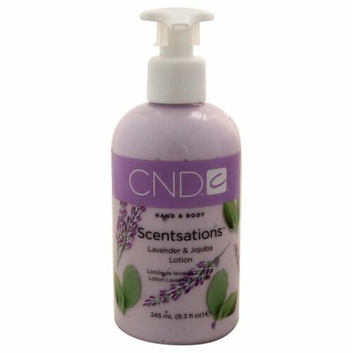 CND Scentsations  Lavender & Jojoba Hand & Body Lotion 8.3 oz Perspective: front