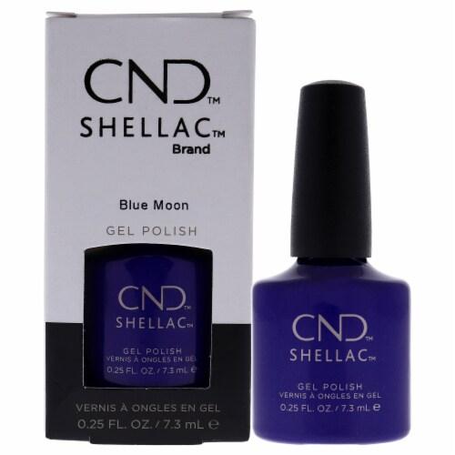 CND Shellac Nail Color  Blue Moon Nail Polish 0.25 oz Perspective: front