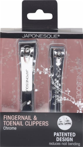 Japonesque Nail Shaping Clipper Duo Perspective: front