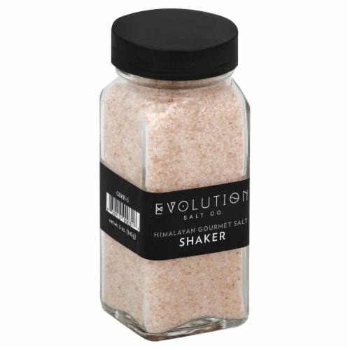 Evolution Salt Co. Himalayan Salt Shaker Perspective: front