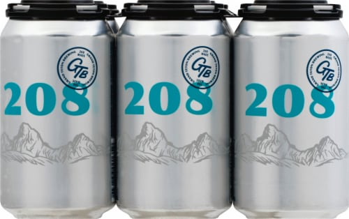 Grand Teton Brewing Co. 208 Session Ale Perspective: front